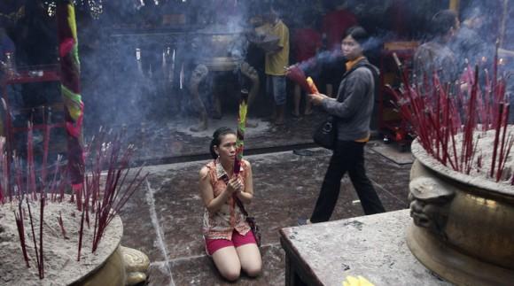 CELEBRACIÓN DEL AÑO NUEVO CHINO EN INDONESIA
