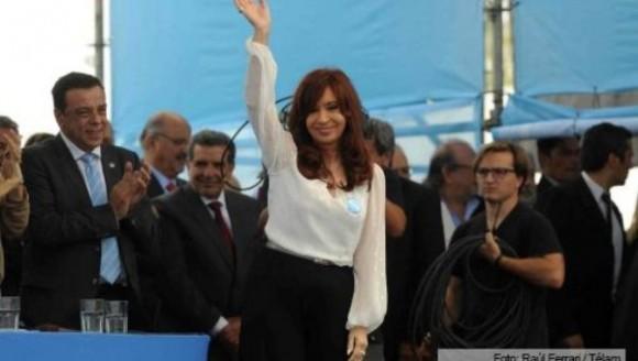 Cristina Fernández aseguró que un país se conoce cuando es posible vivir en paz entre ellos | Foto: Télam