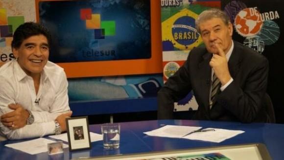 De-Zurda-Diego-Maradona-y-Víctor-Hugo-Morales