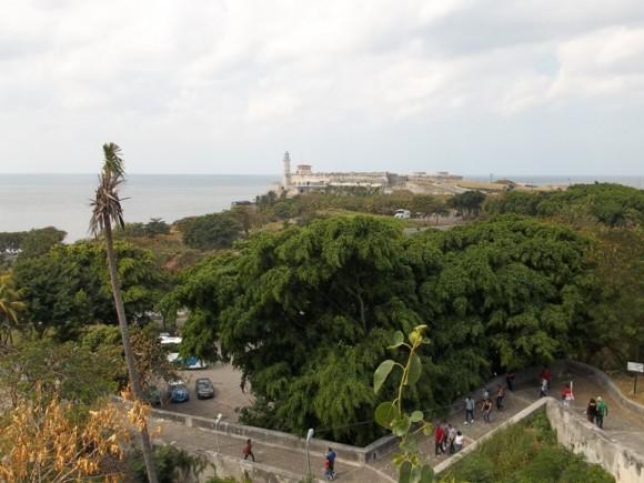 El Morro visto desde La Cabaña. Foto: Joana Lima González / Cubadebate