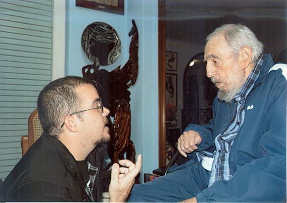 Encuentro de Fidel Castro con Randy Perdomo1