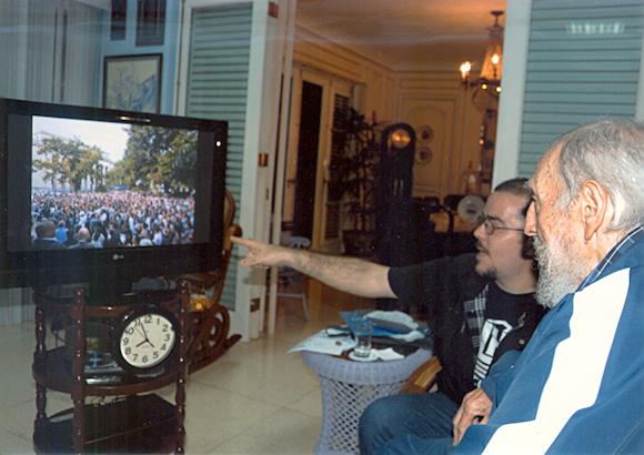 Encuentro de Fidel Castro con Randy Perdomo12345