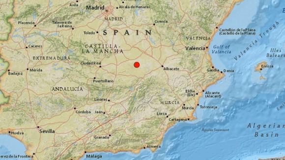 España terremoto