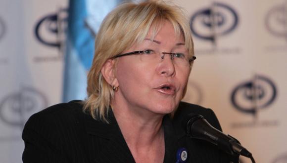 Fiscal Luisa Ortega.