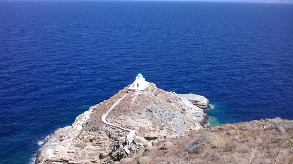 Iglesia de los Siete Mártires, Isla de Sifnos, Grecia. Foto: Mauro Rossetti / Cubadebate