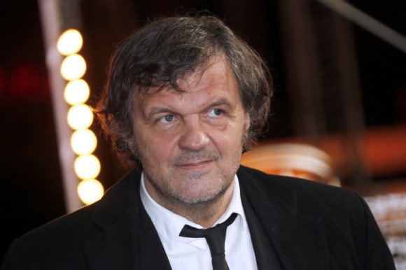 Serbian director Emir Kusturica poses on December 2, 2012 during the 12th Marrakesh International Film Festival in Marrakesh. AFP PHOTO / VALERY HACHE