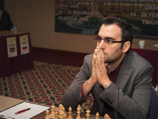 Leinier en el Grand Prix de Tbilisi 2015