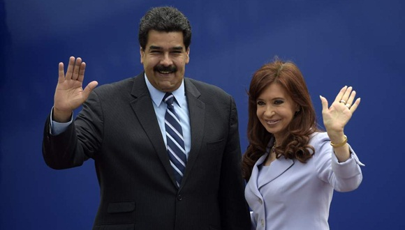 Maduro y cristina