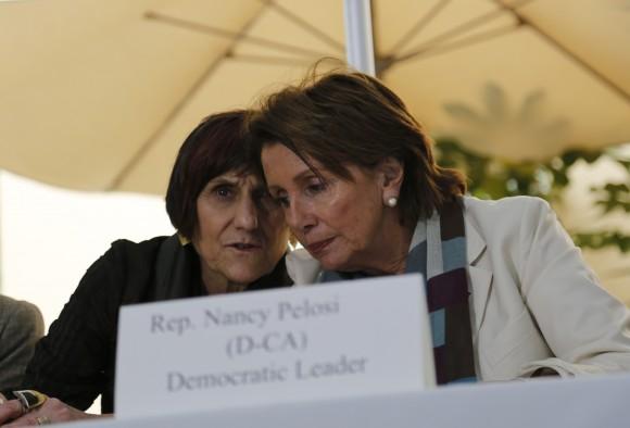 Congresistas de EE.UJU en conferencia de prensa en La Habana. Foto AP / Cubadebate