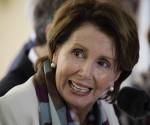 La líder demócrata en la Cámara De representantes de EE.UU., Nancy Pelosi, en conferencia de Prensa en La Habana. Foto: AP / Cubadebate