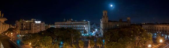 Noche de SuperLuna. Foto: Katia y Kike / Cubadebate