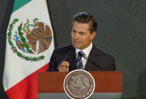 El presidiente Enrique Peña Nieto en reunión con el Cuerpo Diplomático acreditado en México en el marco del Aniversario del Tratado de Tlatelolco.