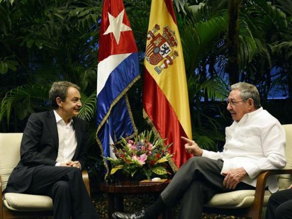 Raúl y Zapatero