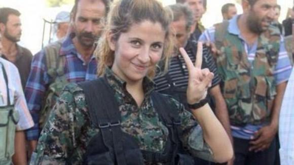Rehana, símbolo de la resistencia kurda.