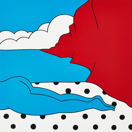 """""""The Fall"""", de Parra, una imagen de su exposición individual  Jonathan LeVine Gallery, de Nueva York. Ilustración: The New York Times."""