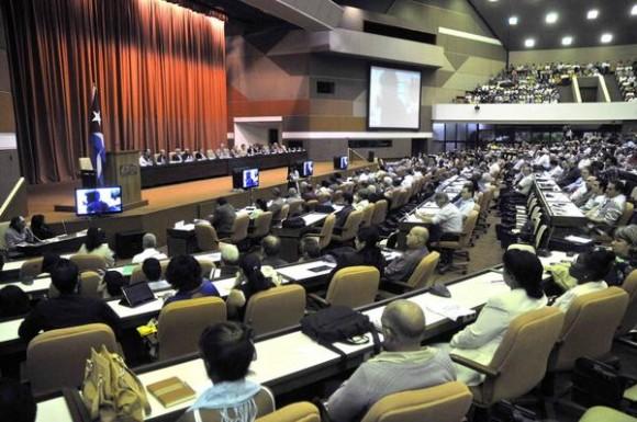Inauguración del Primer Taller de Informatización y Ciberseguridad, en el Palacio de Convenciones, en La Habana, Cuba, el 18 de febrero de 2015. AIN FOTO/Abel ERNESTO