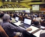 Asistentes a la inauguración del Primer Taller de Informatización y Ciberseguridad, en el Palacio de Convenciones, en La Habana, Cuba, el 18 de febrero de 2015. AIN FOTO/Abel ERNESTO