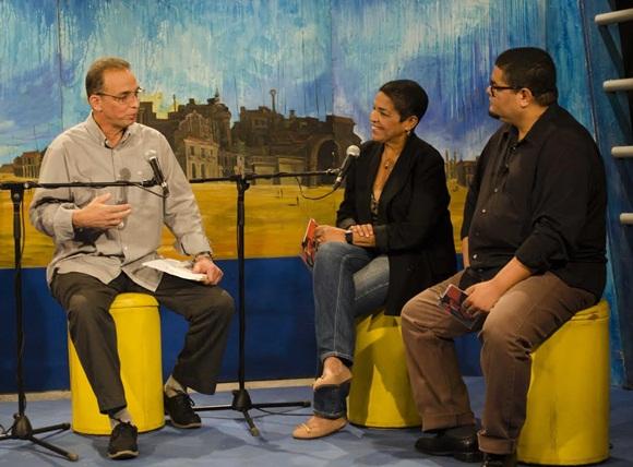 Tony junto a Marta Campos y Eduardo Sosa Foto: Claudio Pelaez Sordo.