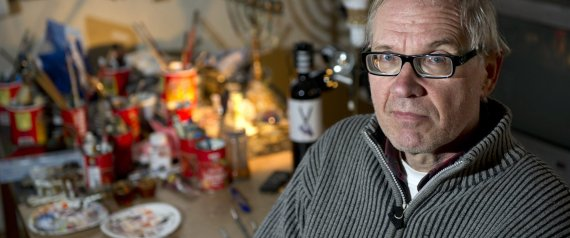 ontroversial Swedish artist Lars Vilks is seen in Nyhamnslage January 3, 2012. Three police were injured on February 14, 2015, after a shooting in the Danish capital of Copenhagen attended by Vilks, Danish Ritzau news agency reported. Police confirmed a shooting and said suspects fled the scene in a car. Vilks stirred controversy in 2007 with published drawings depicting the Prophet Mohammad as a dog which sparked threats from Islamist militant groups. Picture taken January 3, 2012. REUTERS/Bjorn Lindgren/TT News Agency (SWEDEN - Tags: CRIME LAW CIVIL UNREST RELIGION) ATTENTION EDITORS - SWEDEN OUT. NO COMMERCIAL OR EDITORIAL SALES IN SWEDEN. THIS IMAGE HAS BEEN SUPPLIED BY A THIRD PARTY. IT IS DISTRIBUTED, EXACTLY AS RECEIVED BY REUTERS, AS A SERVICE TO CLIENTS. NO COMMERCIAL SALES