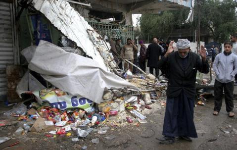 Mueren nueve miembros de las milicias chiíes en un atentado suicida en Iraq. Foto: lainformación.com.