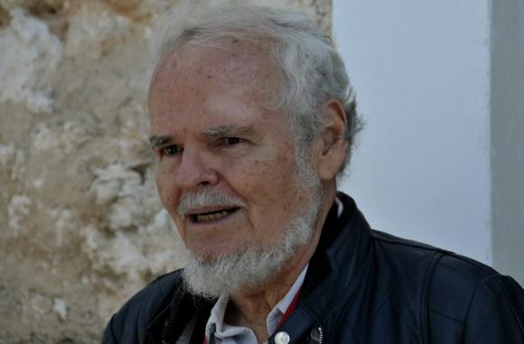 El intelectual venezolano Luis Britto García en la Feria Internacional del Libro de La Habana. Foto: Ladyrene Pérez.