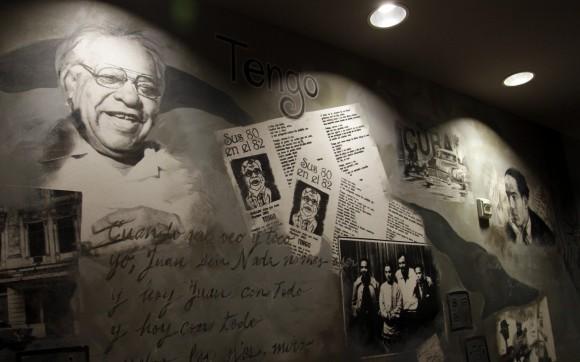 Cuba es el tema que inspira este lugar, y la idea surgió tras el anuncio reciente de la apertura de negociaciones diplomáticas, incluido el intercambio de prisioneros. Foto: Ismael Francisco/ Cubadebate