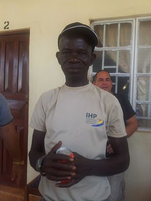 En Sierra Leona: La ternura en tiempos duros.