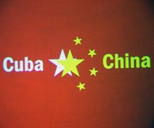 China y Cuba unidas con 49 años de relaciones. China. PLFOTO/Teresita J.Vives
