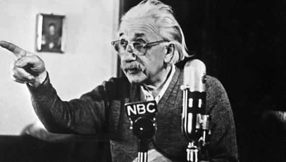 Einstein manifestó su opinión hace muchos años aunque actualmente estas declaraciones suyas parezcan proféticas. Foto: AFP.