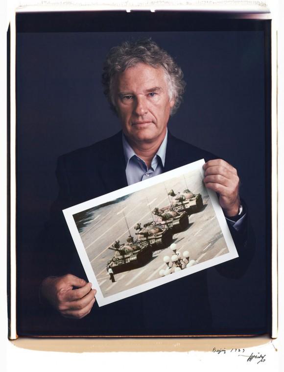 Tank man, de Jeff Widener, Pekín, 1989.