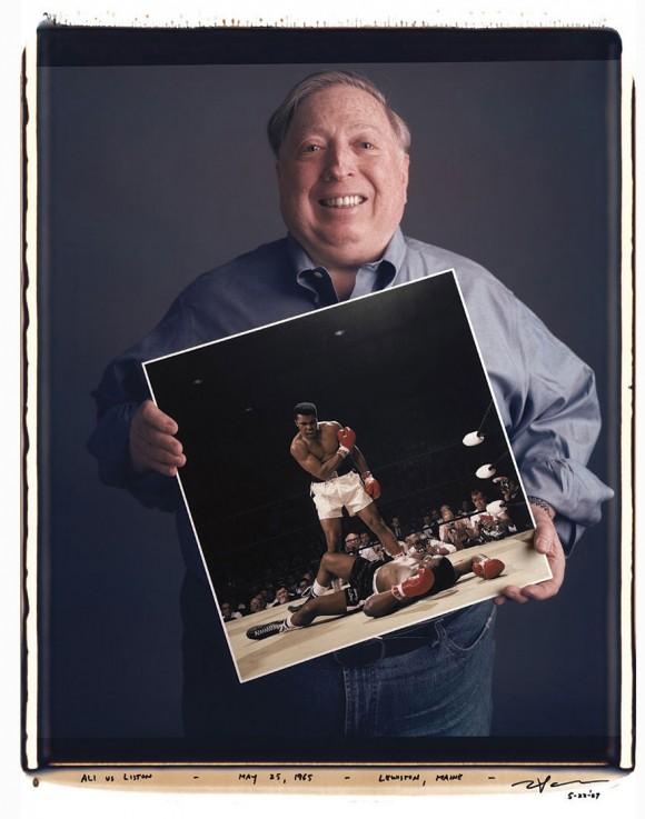 Neil Leifer: Ali contra Liston, 25 de Mayo de 1965, Lewiston, Mayne.