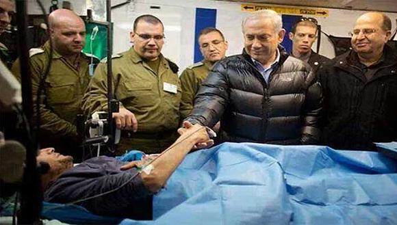 El Primer Ministro de Israel, Benjamín Netanyahu, ha reiterado su apoyo a los grupos terroristas que operan territorio sirio. Foto: SANA