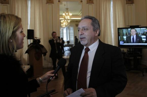 Juan Jacomino, agregado de Prensa en la Sección de Intereses de Cuba en EEUU. Foto: Ismael Francisco/ Cubadebate