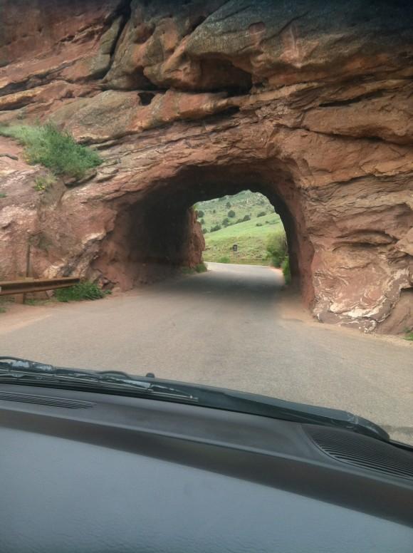 la entrada de las montañas de Denver  Colorado EUA. foto Eslerisis