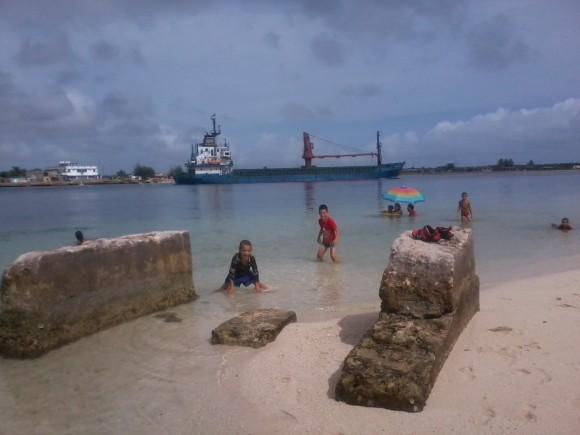 Playa La Boca, Puerto Padre,  Las Tunas. Foto: Ruber Luis Corrales Cruz / Cubadebate