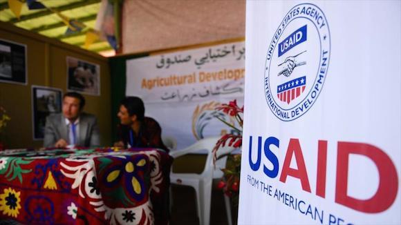 La Agencia de los Estados Unidos para el Desarrollo Internacional (USAID) en Afganistán.