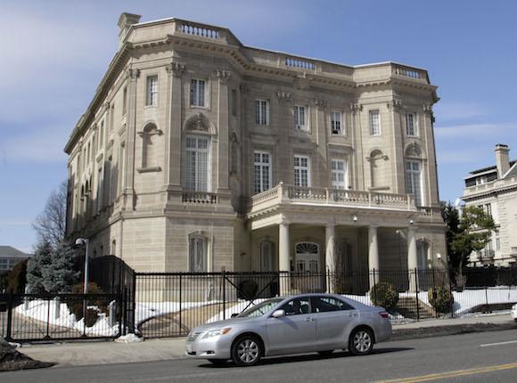 La sede de la Oficina de Intereses de Cuba en Washington. Foto: Ismael Francisco/ Cubadebate