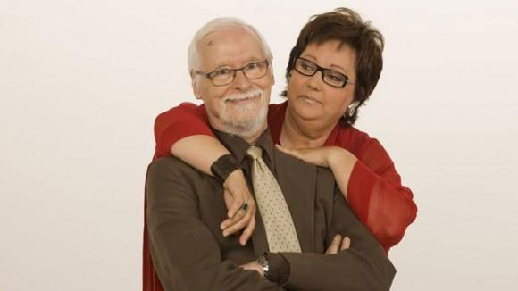 Sergio Blanco junto a su esposa Estíbaliz Uranga.