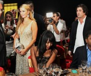 Paris Hilton y Naomi Campbell. Fotos: Daily Mail