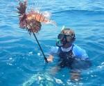 La única posibilidad de erradicar este pez es mediante su captura por el hombre; de ahí que se autorizó su pesca para disminuir su proliferación. Foto: Escambray