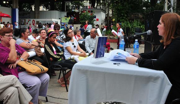 Presentación del libro Julio García Luis en el Pabellón Cuba, de La Habana. Foto: Ladyrene Pérez/ Cubadebate
