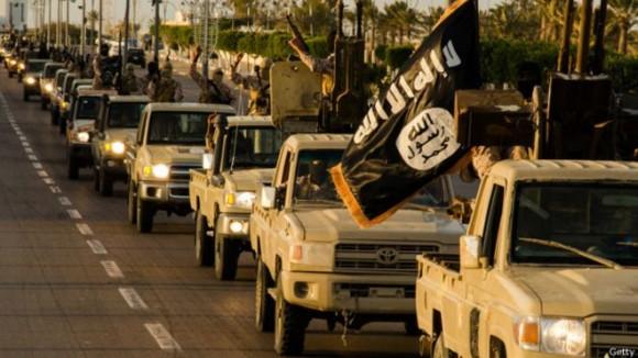 Los militantes de EI han hecho avances en las últimas semanas en Libia.