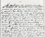 Copia facsimilar del Manifiesto de Montecristi. Foto tomada de Trabajadores