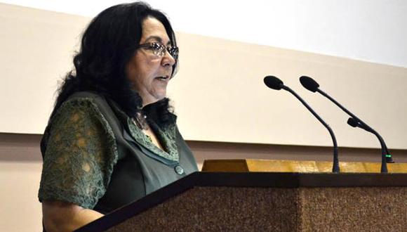 Marcia Cobas, viceministra de Salud Pública.