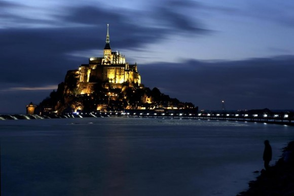 Monte Saint-Michel, Francia. Foto: Boston Globe