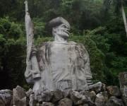 Monumento a los Malagones, Comunidad El Moncada, Viñales, Pinar del Río. Foto: Especialistas Fórum / Cubadebate