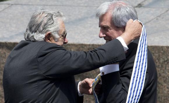 Tabare Vazquez, Jose Mujica