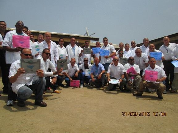 Retorna hoy a Cuba misión médica en Sierra Leona