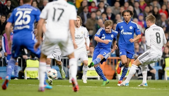 Schalke vs Real Madrid 13