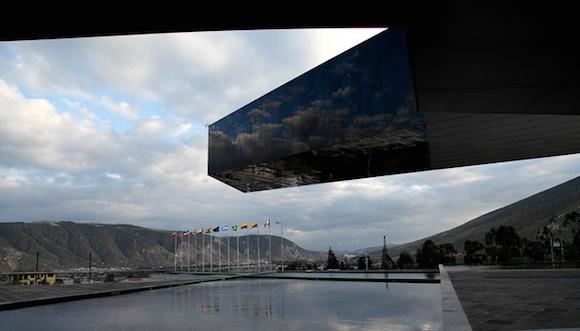 Sede de UNASUR en Quito. Foto: EFE